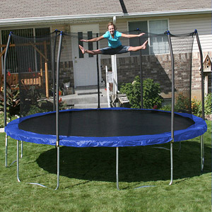 15 Foot Skywalker Trampoline With Enclosure Review
