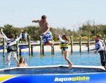Aqua Glide Water Trampoline