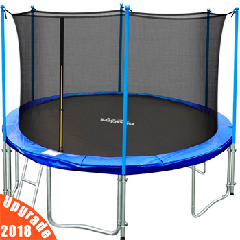 Zupapa 15-ft TUV-approved trampoline