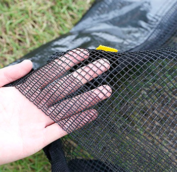 Quality of the Zupapa 15-ft trampoline