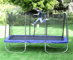 consider the 15x9 Skywalker trampoline for multiple kids