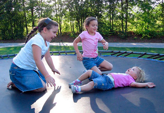 What's the Best Size Trampoline for 3 Kids?