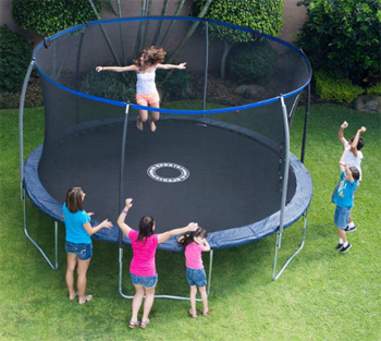 BouncePro 14' Trampoline with Enclosure