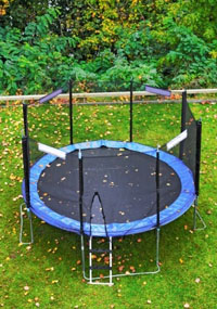 Find replacement parts for your trampoline