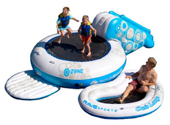 RAVE water bouncer