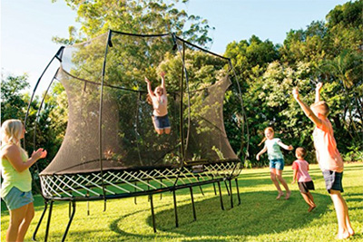 Springfree 11ft square trampoline